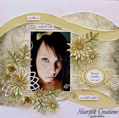 Heartfelt Creations | Sunshine for My Soul Asters Layout
