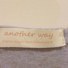 DIY: Make Your Own Clothing Labels **great for labeling jackets and sweaters for school! **