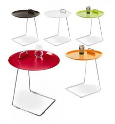 Greuter interieurs cor bijzettafel arthe simpel en handig praktisch en elegant tafeltje - Eigentijdse bed tafel ...
