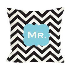 Mr. Chevron Pillow