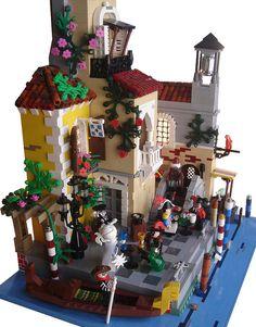 50 Lego Imperial Fort Ideas – How to build it Lego Minifigure Display, Lego Blocks, Lego Modular, Lego Construction, Lego Castle, All Lego, Lego Figures, Lego Worlds, Cool Lego Creations