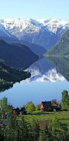 Ulvik Hardanger Noruega Places to visit / Travel destination Lofoten, Dream Vacations, Vacation Spots, Places To Travel, Places To See, Travel Destinations, Wonderful Places, Beautiful Places, Beautiful Scenery