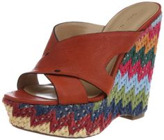 Nine West Women's Makenice Wedge Sandal « ShoeAdd.com – More Shoes For You Every Day