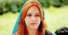 "Hürrem Sultan - ""Power and Pride"" Season Episode 5 Meryem Uzerli, Kosem Sultan, Gold And Black Dress, Lgbt, Dreadlocks, Ottoman Empire, Episode 5, Season 2, Hair Styles"