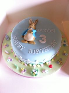 butterscotch patisserie home Peter Rabbit Cake, Peter Rabbit Birthday, Sofia Birthday Cake, First Birthday Cakes, Cake Decorating Icing, Cake Decorating Tutorials, Beatrix Potter Cake, Cupcake Day, Single Layer Cakes
