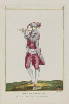 1779 Habit de Paysan en usage pour le bals.