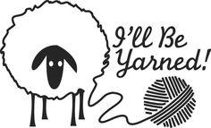 I'll Be Yarned Logo