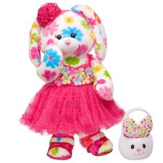 Hoppy Spring Flower Fun Bunny - Build-A-Bear Workshop US $49.50