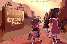 Now leaving Gravity Falls Dipper Pines, Dipper Y Mabel, Mabel Pines, Gavity Falls, Pinecest, Gravity Falls Art, Never Be Alone, Reverse Falls, Disney Shows