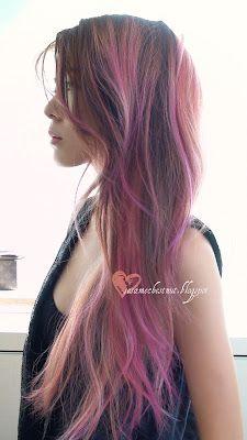 brown hair-pink-dip-dye-2