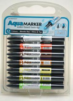 letraset aqua markers - Пошук Google