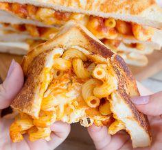 Spaghetti Grilled Cheese Sandwiches | Kirbie's Cravings | A San Diego food & travel blog