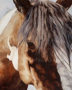 Window+to+the+Soul+Horse+Eye+of+the+Horse+Paint+by+grandhorse,+$24.99