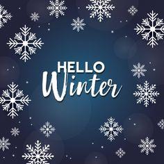 Hello Winter Vector Design, Hello Winter, Hello, December PNG and Vector with Tr. Snowflake Background, Winter Background, Background Banner, Bullet Journal Christmas, Snow Night, December Wallpaper, Snow Holidays, Hello Kitty Backgrounds, Hello November