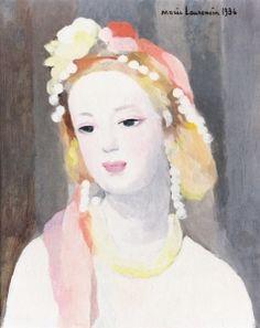 Head - Marie Laurencin - The Athenaeum