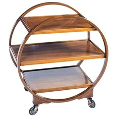 Buy Art Deco Furniture from one of the UK's premier furniture dealers. Discover the Antique Art Deco Walnut Serving Trolley at Regent Antiques. Art Deco Furniture, Dining Furniture, Vintage Furniture, Cool Furniture, Modern Furniture, Art Deco Bar, Art Deco Design, Trolley Cart, Drinks Trolley