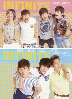 INFINITE ♡ Sunggyu, Dongwoo, Woohyun, Hoya, Sungyeol, L, and Sungjong - Official Collection Cards Vol.1