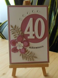 3d Karte Pop Up 60 90 Geburtstag Polly Paper