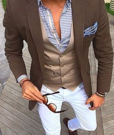 Such a dapper outfit. Mens Fashion Blog, Fashion Mode, Suit Fashion, Style Fashion, Classic Mens Fashion, Fashion Ideas, Mens Fashion 2018, Fashion Check, Fashion Tips