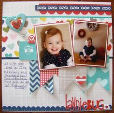 Bella Blvd Family Forever collection. LaynieBug sketch layout by DT member Allyson Meinholz.