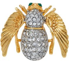 Joan Rivers Angel Bee Pin - J327404
