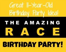 Great Party Idea: The Amazing Race Birthday Party! -