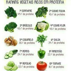Fontes de proteína