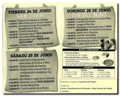 Fiestas de San Juan, Riancho. 24, 25 y 26 de Junio. #Fiestas #Riancho #Gibaja