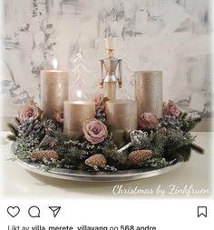 """Gefällt 35 Mal, 2 Kommentare - Landstil AS (@landstilas) auf Instagram: """"Sjekk det nydelige fatet som @zinkfruen har dekorert Så lekkert ❤️ #jul #julepynt #christmastree…"""""""