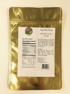 Magic Flavors Egg White Powder, x 6 Pouches ** Check this awesome product by going to the link at the image. How To Make Dough, How To Make Bread, Gourmet Recipes, Healthy Recipes, Healthy Food, Powdered Eggs, Sweet Dough, Bulk Food, Egg Whites