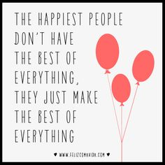 The Happiest People!