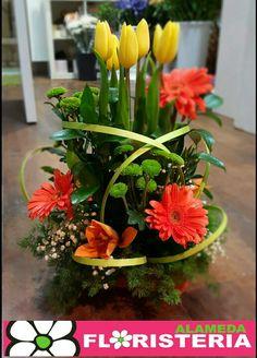 Centro de flores  elaborado por Floristeria Alameda en Cartagena