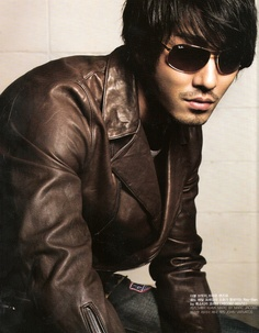 cha seung won...the model