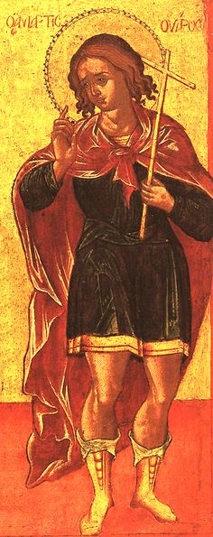 Holy Martyr Varus (3rd-4th cent Egypt) lived during strong persecution. Military commander and secret Christian, he assisted many persecuted Christians. He visited prisoners at night, brought food, dressed wounds, and encouraged them. Once Varus spent a whole night talking with 7 monks, Christian teachers who had been beaten and starved. When they were led to execution, Varus marched with them. The judge had him fiercely beaten and he died. The monks were beheaded. (Oct 19)