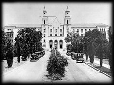 st joseph hospital orange ca   original building
