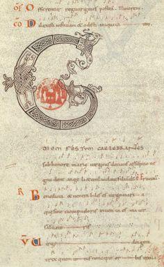 THELEME. Graduel de Saint-Denis, Commentaire paléographique