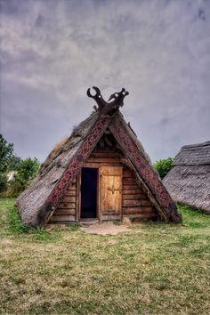 Southern Sweden,Trelleborg Viking Market by René Eriksen on Viking House, Viking Life, Viking Camp, Viking Tent, Viking Village, Viking Culture, A Frame House, Norse Vikings, Cabins In The Woods