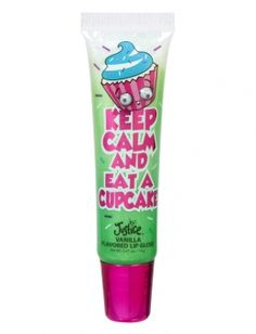 Keep Calm Cupcake Lip Tube