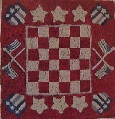 Patriotic Checkers - Polly Minick