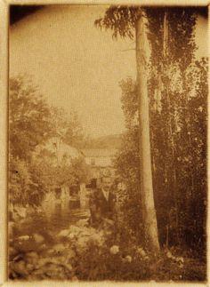 Fábrica da Luz, Lugo. Ca. 1910. Xelatina de prata ao clorobromuro. 18 x 13 cm.