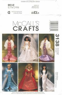 Free Copy of Pattern - McCall's 3138