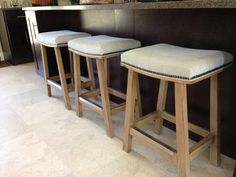 LEE Industries counterstools with nailhead