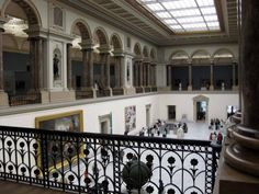 The Royal Museums of Fine Art in Brussels, Belgium. Lots of Dutch masters, an entire wing of modern art, and an impressive collection of 15th to 17th century art. Plus the building itself is quite gorgeous. With Lance, David, Mom, and me.
