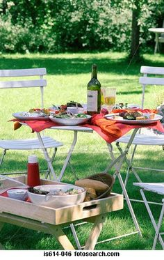 Lunch in the garden with wine IS614-046Art - IS614-046.jpg