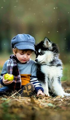 Things that make you go AWW! Like puppies, bunnies, babies, and so on. A place for really cute pictures and videos! Dogs And Kids, Animals For Kids, Animals And Pets, Baby Animals, Cute Animals, Cute Kids, Cute Babies, Jolie Photo, Beautiful Children