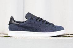 adidas Originals Stan Smith Indigo Denim/Black