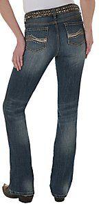 Wrangler® Aura™ Ladies Tinsel Town Instantly Slimming Slender Stretch Jean