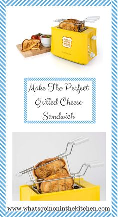 Make the perfect grilled cheese sandwich with this awesome toaster. This cool kitchen appliance can easily make 2 grilled cheese sandwiches in 2 minutes with this no fuss and no mess. Cool Kitchen Appliances, Cool Kitchens, Perfect Grilled Cheese, Sandwich Toaster, Grilled Sandwich, Grilling, Sandwiches, Make It Yourself, Cool Stuff