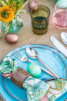 A Colorful and Charming Easter Brunch