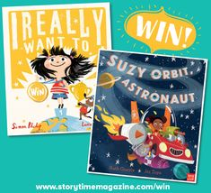 Storytime runs a kids competition each month where you can our brilliant Books of the Month and more! Enter today to be in with a chance of winning. Competitions For Kids, Suzy, Story Time, Astronaut, Crow, Books, Raven, Libros, Book
